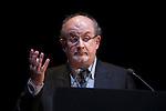 British novelist Salman Rushdie receives the `Circulo de Bellas Artes´ Golden Medal award in Madrid, Spain. October 06, 2015. (ALTERPHOTOS/Victor Blanco)