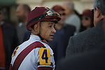 Mike Smith the after winning the Sabin Stakes (G3) at Gulfstream Park. Hallandale Beach Florida. 02-17-2013