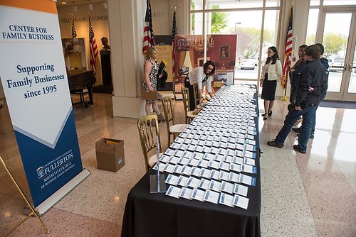 Fourth annual CSUF Family Business awards.