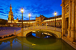 Spanien, Andalusien, Sevilla: Palacio Espanol, Plaza de Espana | Spain, Andalusia, Seville: Palacio Espanol, Plaza de Espana