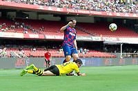 São Paulo (SP), 15/12/2019 - Futebol-Legendscup - Belletti do Barcelona. Partida entre as lendas de Barcelona e Borussia Dortmund no estádio do Morumbi, em São Paulo (SP), domingo (15).