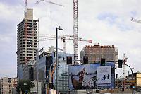 - Milan, construction site for restructuring of the ex Varesine area<br /> <br /> - Milano, cantieri edili per la riconversione dellě'area delle ex Varesine
