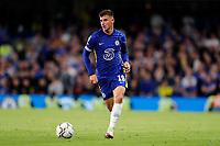 22nd September 2021; Stamford Bridge, Chelsea, London, England; EFL Cup football, Chelsea versus Aston Villa; Mason Mount of Chelsea on the ball