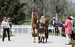 April 23, 2014: RF Demeter and Marilyn Little during the first horse inspection at the Rolex Three Day Event in Lexington, KY at the Kentucky Horse Park.  Candice Chavez/ESW/CSM