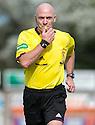 Referee Craig Charleston.
