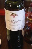 Bottle of Angel A Mendoza Cabernet Sauvignon 1996 Domaine St Diego Lunlunta Maipu Mendoza The O'Farrell Restaurant, Acassuso, Buenos Aires Argentina, South America