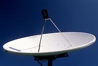 telecommunications : satellite dish