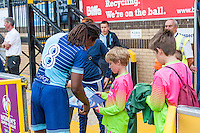 Marcus Bean of Wycombe Wanderers during the Wycombe Wanderers 2016/17 Team & Individual Squad Photos at Adams Park, High Wycombe, England on 1 August 2016. Photo by Jeremy Nako.