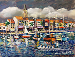 """Sanary Harbor""<br />