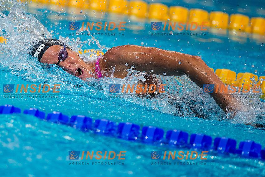 LETRARI Laura ITA<br /> 4X100 Freestyle Relay Women Heats<br /> Swimming - Kazan Arena<br /> Day10 02/08/2015<br /> XVI FINA World Championships Aquatics Swimming<br /> Kazan Tatarstan RUS July 24 - Aug. 9 2015 <br /> Photo A.Masini/Deepbluemedia/Insidefoto