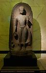 Buddha with Devotee, Sandstone, Kurkihar India 9th c., British Museum, London, England, UK
