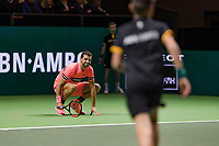 Rotterdam, The Netherlands, 16 Februari, 2018, ABNAMRO World Tennis Tournament, Ahoy, Tennis, Grigor Dimitrov (BUL)<br /> <br /> Photo: www.tennisimages.com