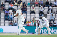 Ross Taylor, New Zealand clears the infield for four runs during India vs New Zealand, ICC World Test Championship Final Cricket at The Hampshire Bowl on 23rd June 2021