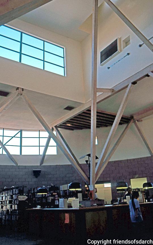 Rob W. Quigley: Linda Vista Public Library Interior. Photo '97.