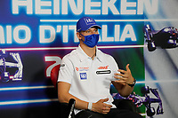 9th September 2021; Nationale di Monza, Monza, Italy; FIA Formula 1 Grand Prix of Italy, Driver arrival and inspection day:  Mick Schumacher GER, Haas F1 Team