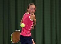 March 14, 2015, Netherlands, Rotterdam, TC Victoria, NOJK, Anna Brinkmann Adsarias (NED)<br /> Photo: Tennisimages/Henk Koster