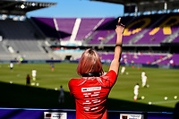Orlando City, FL - Wednesday March 07, 2018:  during a 2018 SheBelieves Cup match between the women's national teams of Germany (GER) and France (FRA) at Orlando City Stadium.