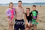 Enjoying the afternoon in Banna Beach on Sunday, l to r:  Vanessa, John, Paulina and Aaron Kinsella from Glin.