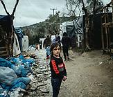 Moria, Lesbos, Griechenland