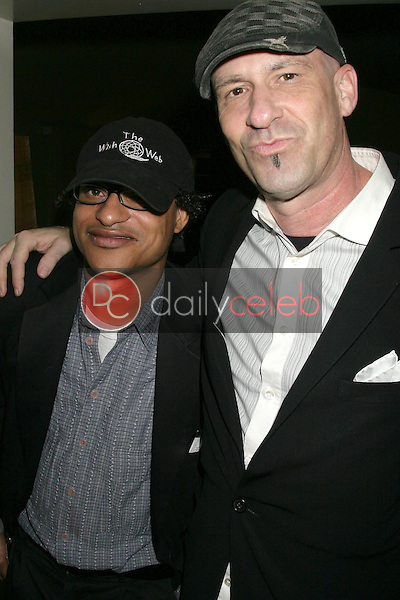 Clinton H.Wallace and Tommy Colavito<br />at a party hosted by Theatre 68 to Announce the John Patrick Shanley Festival. Private Residence, Beverly Hills, CA. 02-23-09<br />Dave Edwards/DailyCeleb.com 818-249-4998