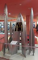Ракета Gird-X, первая советская ракета с жидкостным ракетным двигателем. / Gird-X rocket, the first Soviet rocket with a liquid-fuelled rocket engine.