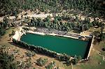 Solomon's pools-Aerial views
