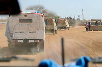 MALI, Gao, Minusma UN peace keeping mission, Camp Castor, german army Bundeswehr, patrol , malian army FaMA check post