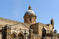 Kathedrale in Palermo, Sizilien, Italien , UNESCO-Weltkulturerbe