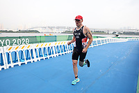 28th August 2021; Tokyo, Japan; Michael Taylor (GBR), Triathlon :Men's PTS4 during the Tokyo 2020 Paralympic Gamesat the Odaiba Marine Park in Tokyo, Japan.