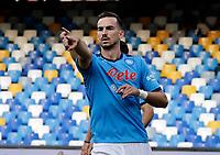 11th September 2021; Maradona Stadium, Naples, Italy; Serie A football, SSC Napoli versus Juventus  FC: Fabian Ruiz of Napoli