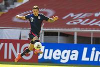 during the game Honduras vs United States, corresponding to Semifinals of the Concacaf Mens Olympic Qualifying 2020, at Jalisco Stadium, on March 28, 2021.<br /> <br /> <br /> <br /> durante el partido Honduras vs Estados Unidos, correspondiente a Semifinales del campeonato Preolimpico de Concacaf Guadalajara 2020, en el Estadio Jalisco, el 28 de Marzo de 2021.