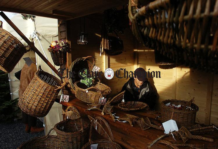 Ballyvaughan Christmas Market on Saturday morning.Pic Arthur Ellis.