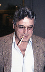Rock Hudson attends a Broadway show on November 1, 1979  in New York City.