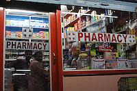 Pharmacy in Madras, India
