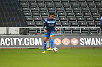20th April 2021; Liberty Stadium, Swansea, Glamorgan, Wales; English Football League Championship Football, Swansea City versus Queens Park Rangers; Niko Hamalainen of Queens Park Rangers during the warm up