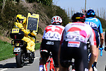 """The breakaway group over 8'20"""" ahead during the 116th edition of Paris-Roubaix 2018. 8th April 2018.<br /> Picture: ASO/Pauline Ballet 