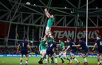 Saturday 1st February 2020 | Ireland vs Scotland<br /> <br /> James Ryan during the 2020 6 Nations Championship   clash between Ireland and Scotland at he Aviva Stadium, Lansdowne Road, Dublin, Ireland. Photo by John Dickson / DICKSONDIGITAL