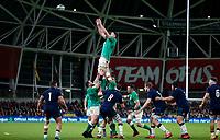 Saturday 1st February 2020 | Ireland vs Scotland<br /> <br /> James Ryan during the 2020 6 Nations Championship   clash between Ireland and Scotland at he Aviva Stadium, Lansdowne Road, Dublin, Ireland. Photo by John Dickson / DICKSONDIGITAL