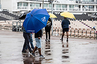 A bleak view at the Hampshire Bowl with heavy rain continuing during India vs New Zealand, ICC World Test Championship Final Cricket at The Hampshire Bowl on 18th June 2021