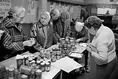 Pensioners' Food Club at the 510 Centre, Harrow Road, North Paddington, London.