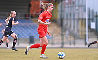 Marie Bougard (10) of Woluwe pictured during a female soccer game between FC Femina White Star Woluwe and SV Zulte Waregem on the fifth matchday of play off 2 in the 2020 - 2021 season of Belgian Scooore Womens Super League , Saturday 8 th of May 2021  in Woluwe , Belgium . PHOTO SPORTPIX.BE   SPP   DAVID CATRY