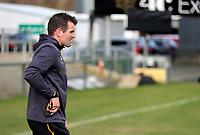 18th March 2021;  Jared Payne during Ulster Rugby Captain's Run held at Kingspan Stadium, Ravenhill Park, Belfast, Northern Ireland. Photo by John Dickson/Dicksondigital