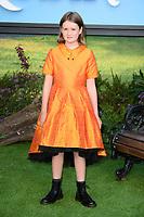 "Brontie Carmichael<br /> arriving for the ""Christopher Robin"" premiere at the BFI Southbank, London<br /> <br /> ©Ash Knotek  D3416  05/08/2018"