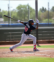 Henderson De Oleo - Cleveland Indians 2018 extended spring training (Bill Mitchell)