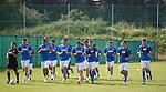 Rangers squad training in Marienfeld, Germany