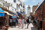 Marokko, Region Marrakesch-Tensift-El Haouz, Essaouira an der Atlantikkueste: Soukh in der Medina (Altstadt) | Morocco, Region Marrakesh-Tensift-El Haouz, Essaouira at the Atlantic Coast: The souk in the medina