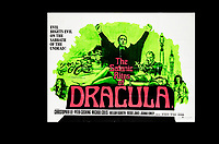 BNPS.co.uk (01202) 558833. <br /> Pic: SpecialAuctionServices/BNPS<br /> <br /> A poster for the Satanic Rites of Dracula is also up for auction.<br /> <br /> A collection of rare movie posters that have been sat gathering dust in a garage have sold at auction for £6,500.<br /> <br /> The 32 sheets date from the 1950s to the '70s and promote classic movies such as Frankenstein and Christopher Lee's Dracula.<br /> <br /> The vendor had owned the posters for several years after she had inherited them from a relative.