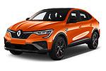 2021 Renault Arkana RS-Line 5 Door SUV Angular Front automotive stock photos of front three quarter view