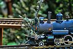 Train layout display O-gage steam engine no. 833