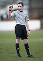 Referee Colin Steven.